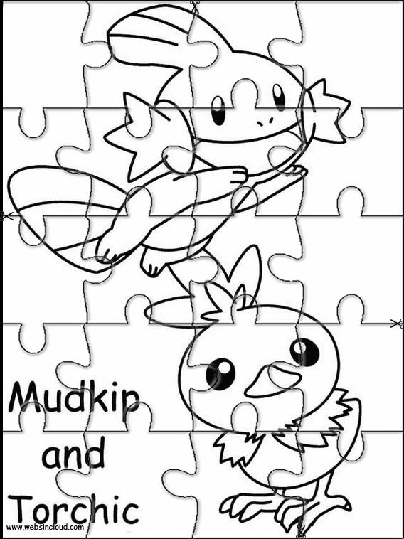 Printable Jigsaw Puzzles To Cut Out For Kids Pokemon 54