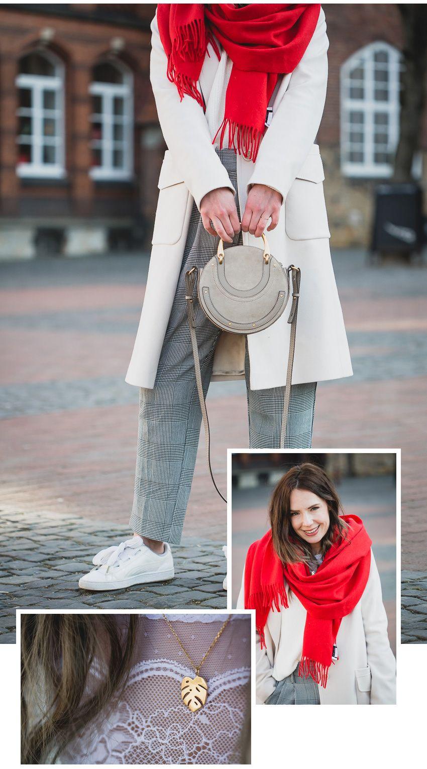 Wie braune Stiefel mit beige Mantels zu kombinieren (26