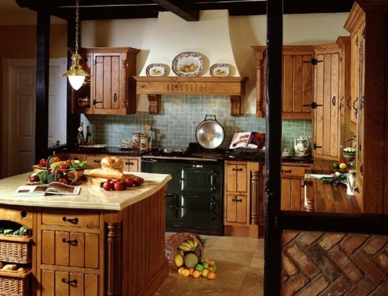 Farmhouse Style Kitchens Style  Handmade Kitchens By Violet