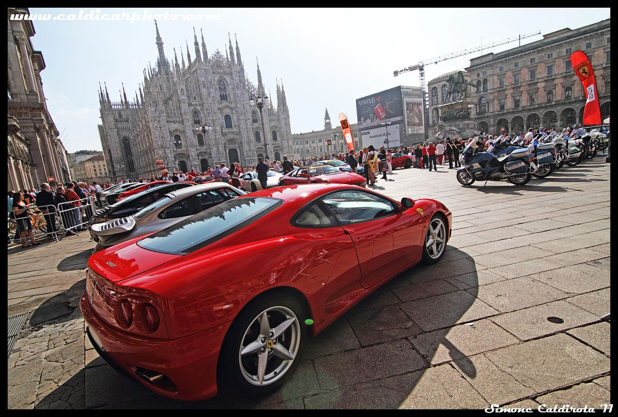 One Day Tour In Milan With Ferrari