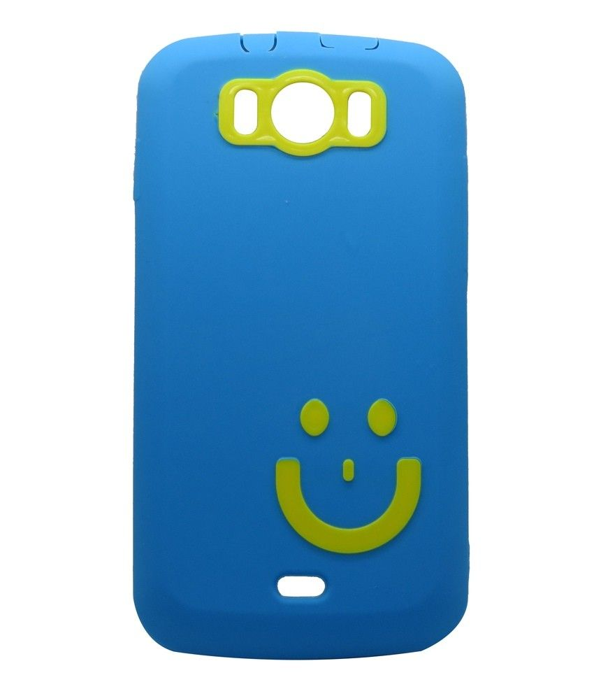 new concept d3a68 26d89 Snooky Blue Back Cover Cases For #Micromax Canvas 2 A110 | Latest ...