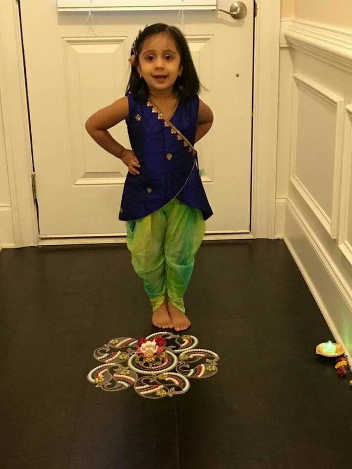 2d8c9ad536290 Pinterest :@achyi | stitching ideas | Kids indian wear, Kids outfits ...