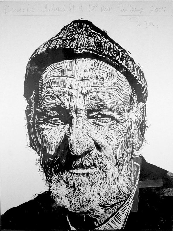 Quot bruce print by neil shigley http