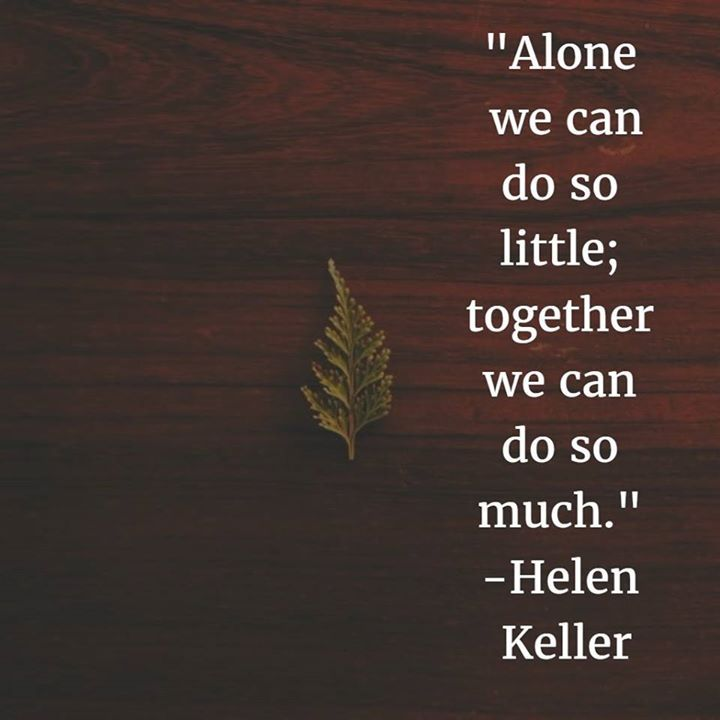 We can come together and make something great! #Feedback #Teamwork #MotivationalSunday - http://ift.tt/1HQJd81