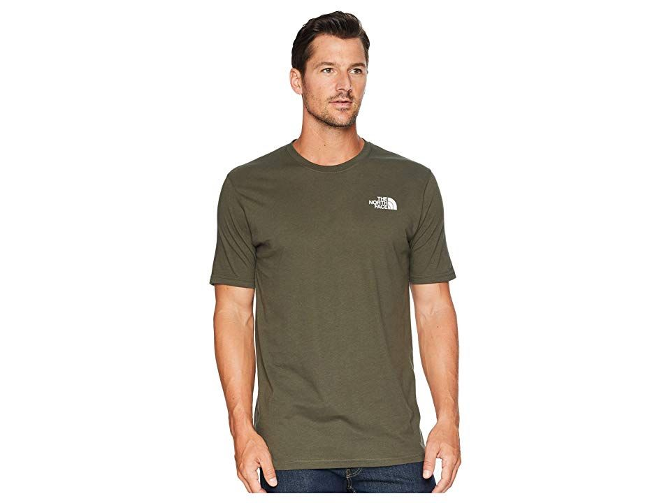 8b8daf59c The North Face Short Sleeve Red Box Tee (New Taupe Green/TNF Black ...