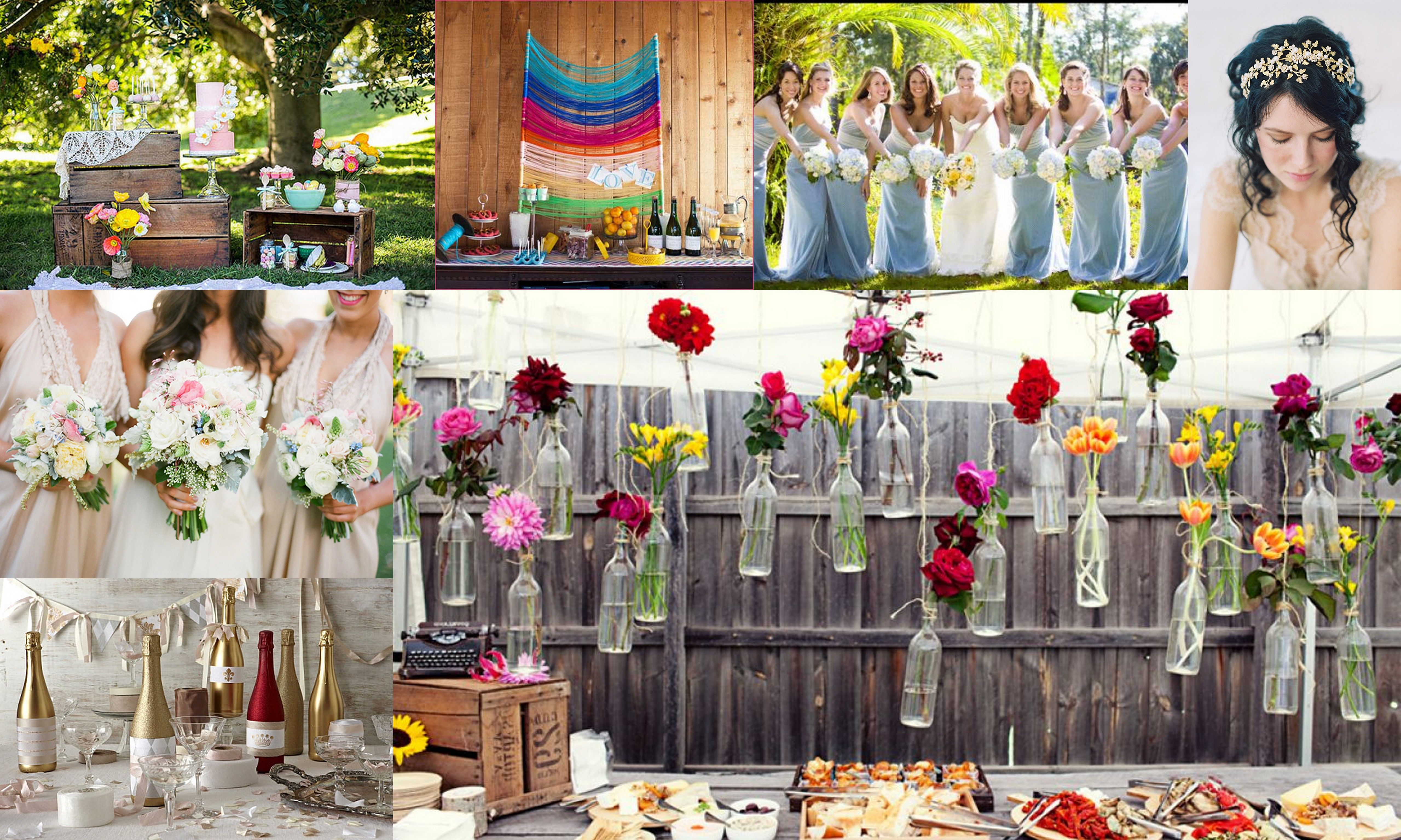 Top 5 Color Theme For Spring Wedding Wedding Flower Ideas