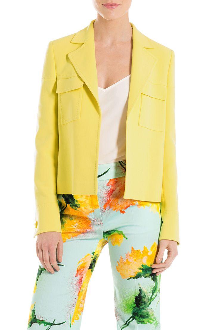Jacke Bardo von ESCADA exklusiv im neuen ESCADA E-STORE. Designermode und Luxus-Fashion online bestellen bei ESCADA.