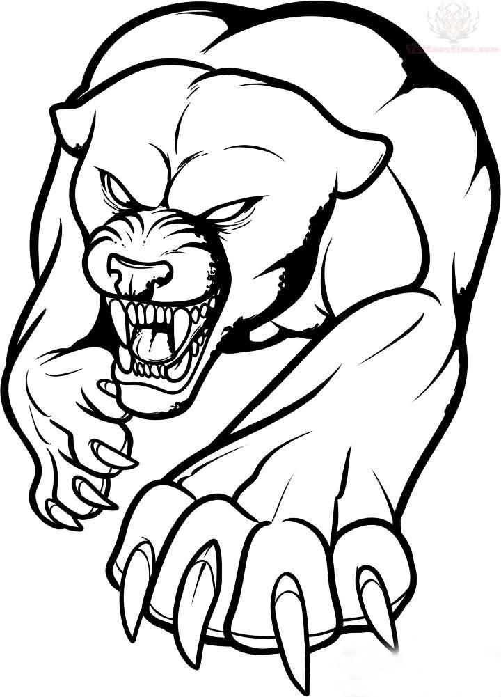 Tribal Jaguar Tattoos Page 2 Panther Tattoo Tattoo Stencil Outline Jaguar Tattoo