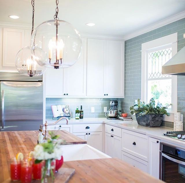 LOVE kitchen design from fixer upper show