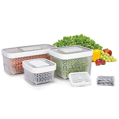 The OXO Good Grips GreenSaver Produce Keeper will keep