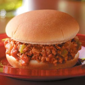 Turkey Sloppy Joes - Just Plum Crazy