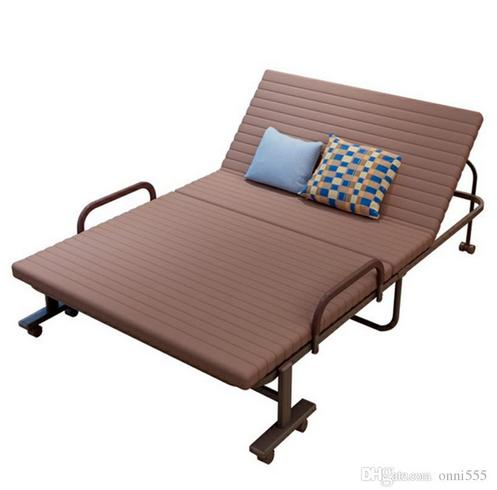 Rollaway Metal Folding Guest Sleeper Cot 190 120 Cm Steel