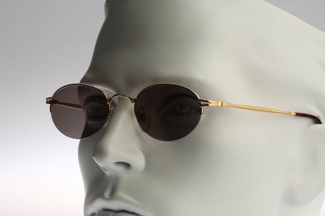 Jean Paul Gaultier 55-7192 Vintage sunglasses NOS  90's designer eyewear