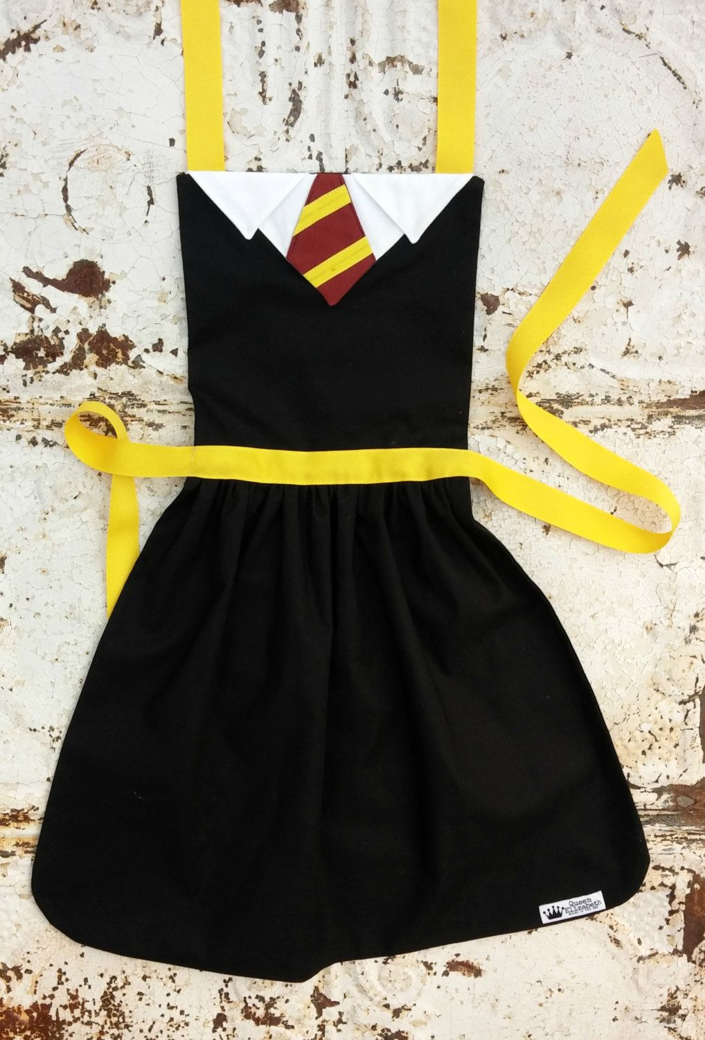 HARRY POTTER inspired Costume Apron Pdf Sewing PATTERN. Girls sizes ...