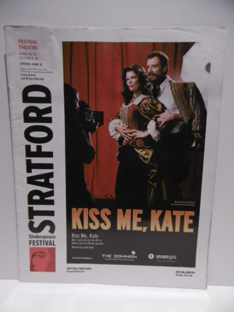 House Programme 2010 Kiss Me, Kate Stratford festival