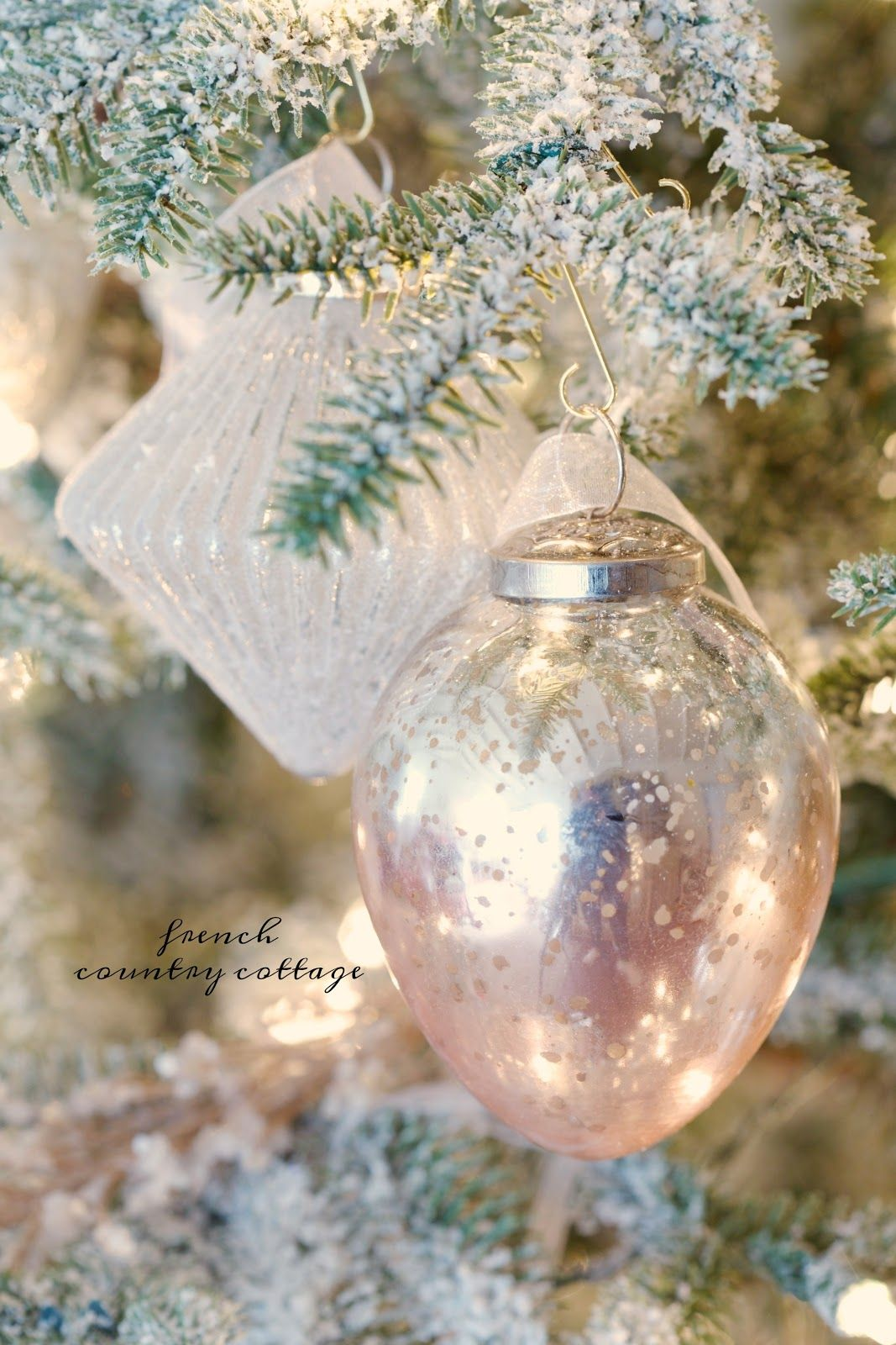 french country cottage christmas christmas decorating christmas tree blush french country christmas