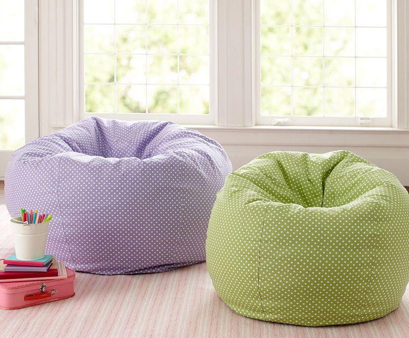 Pottery Barn Kids Bean Bag Chairs Unisex (