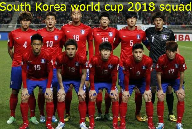 South Korea Football Team Squad Fifa World Cup 2018 Russia Fifaworldcup Fifa2018 2018fifaworldcup World Cup 2018 Teams World Cup Match Fifa World Cup