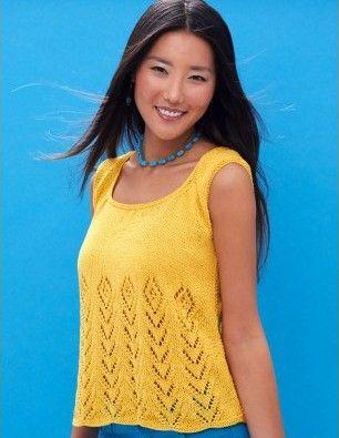 Sleeveless Tops Knitting Patterns Knitting Patterns Patterns And