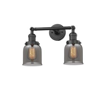 Photo of Innovations Lighting Innovations Lighting Small bell 1 lamp (vintage light bulb included / lamps included / LED dimmable – plated smoke oil