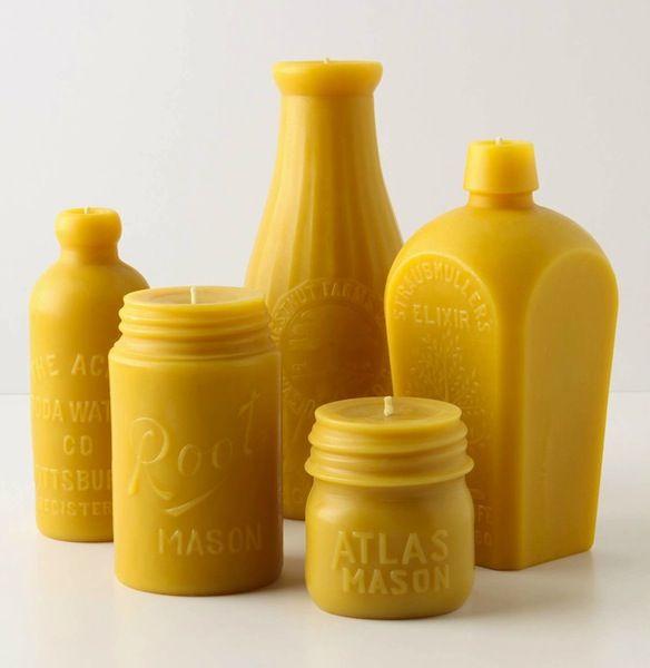 Mason Jar Candle Molds