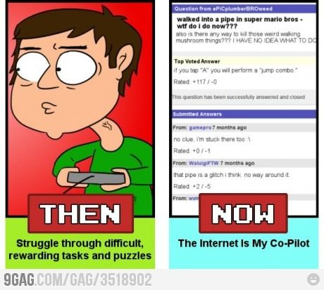 Gaming Then And Now Gaming Blog Then Vs Now Dorkly Comics