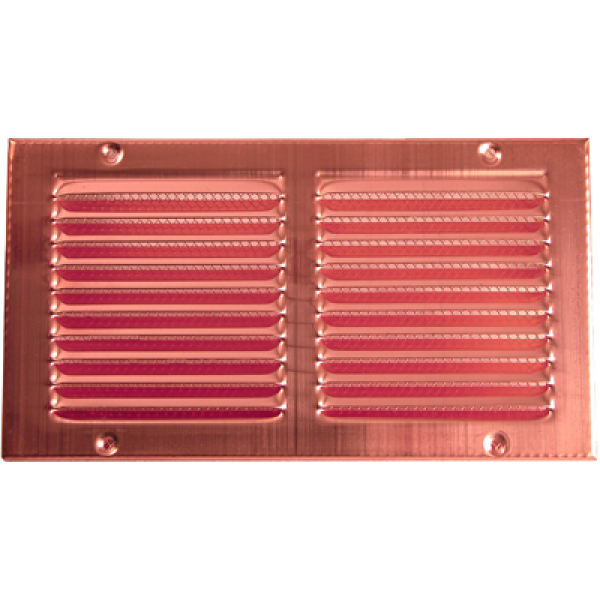 Copper Rectangular Ventilation Grid With Screen Is Made Of Durable Copper Screen Is Included On Copper Wall Roof Vents Copper