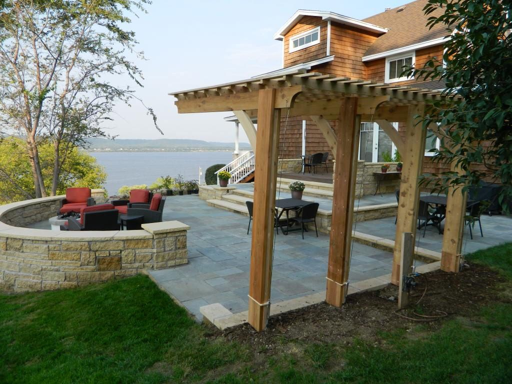 Cantilever pergola | Backyard | Pinterest | Pergolas, Backyard and ...