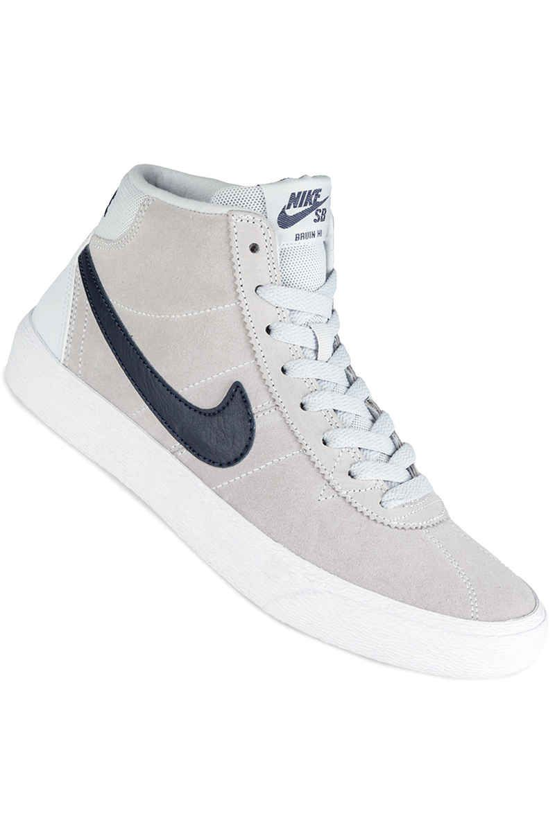8fc5be104fe321 Nike SB Bruin High Shoes in pure platinum obsidian