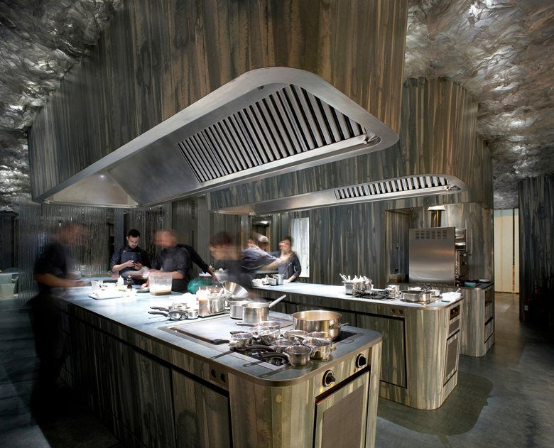 View Full Picture Gallery Of Enigma Space Restaurant Kitchen Design Commercial Kitchen Design
