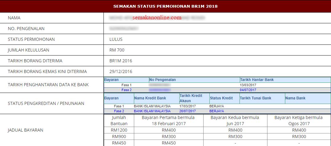 Bsh 2020 Semakan Status Bantuan Sara Hidup Fasa 1 Januari Nama