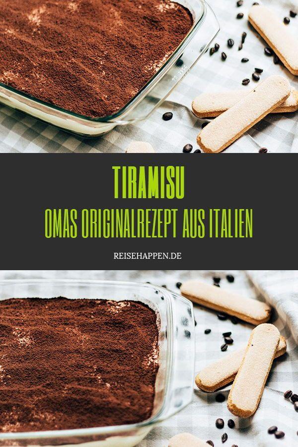 Tiramisu – das Originalrezept aus Italien |Reisehappen
