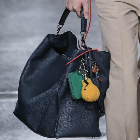 fendi-man bag-milan fashion week menswear-spring summer 2015-navy peekaboo  bag-lightbulb fendi bag pom pom-handbag.com 77d52d91b6c9b