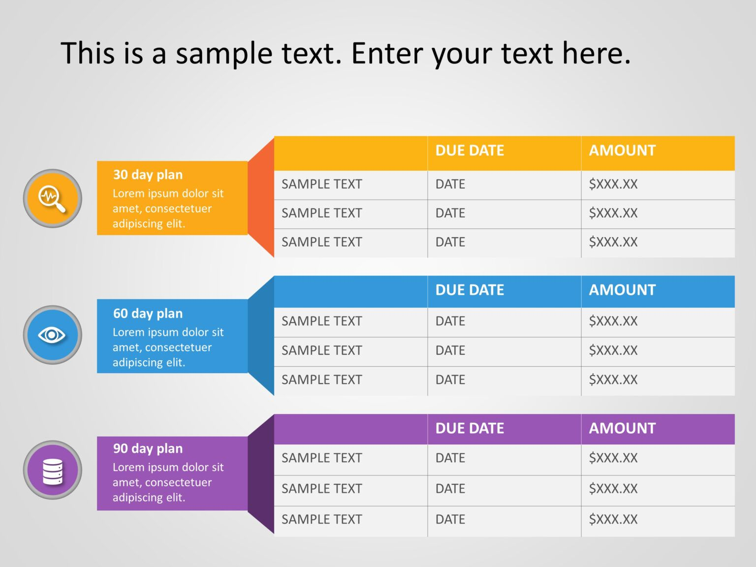 30 60 90 Day Plan Powerpoint Template 21 30 60 90 Day