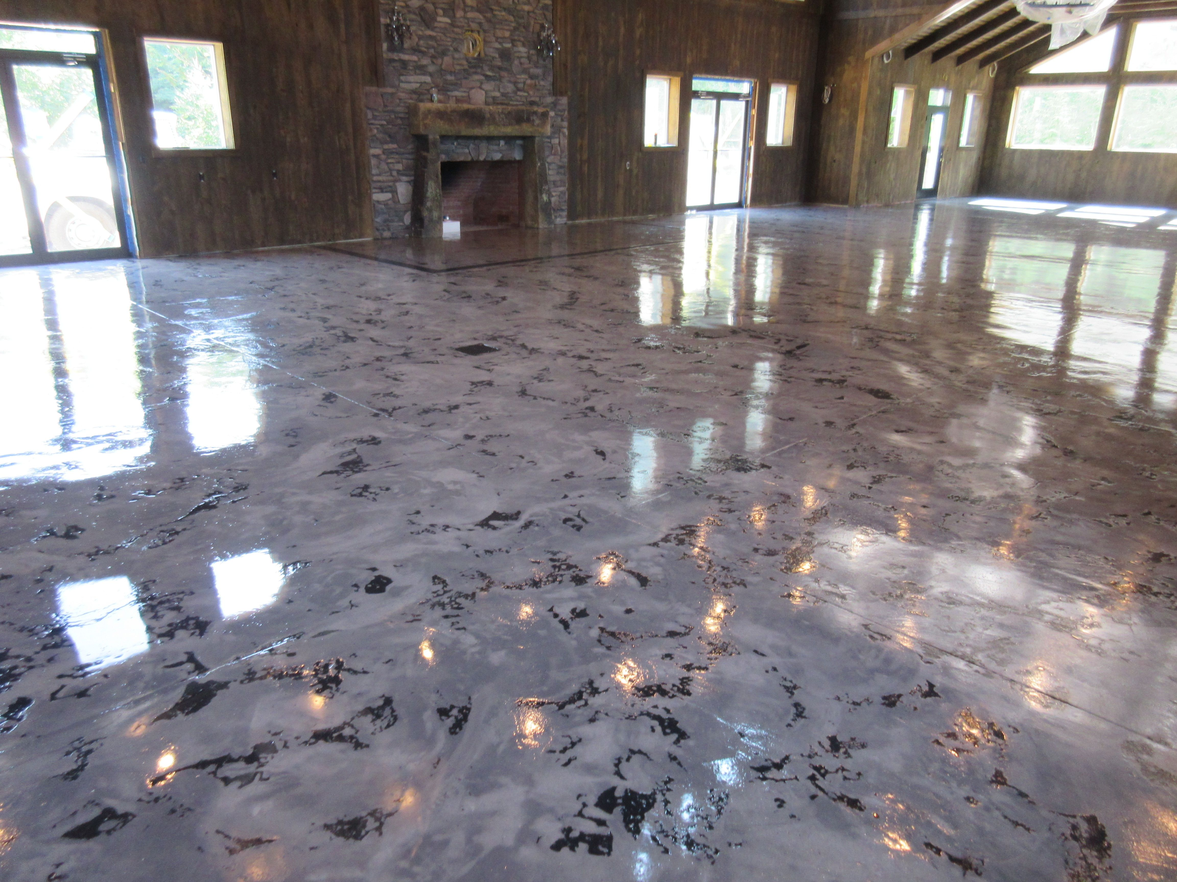 Concrete Floor Stain Columbus Concrete Floor Pinterest