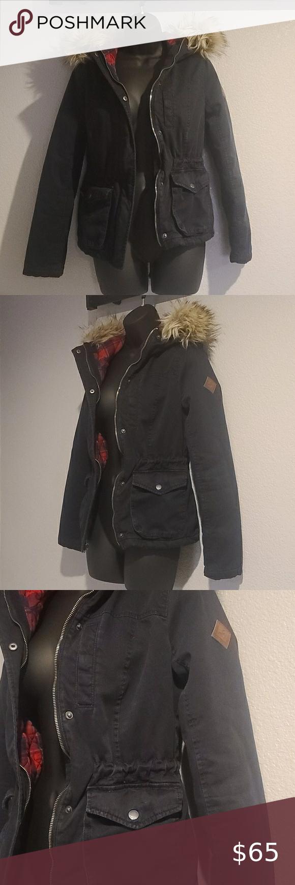 Hollister Winter Coat Coats Jackets Women All Weather Jackets Fall Utility Jacket [ 1740 x 580 Pixel ]