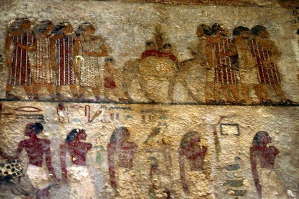 Semitic Peoples Being Led By Egyptians Ancient Kmt Egypt Part Iv