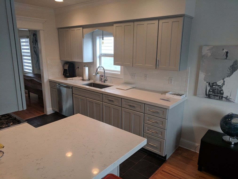 Kitchen Refinished In Tinsmith By Chameleon Painting Slc Ut With