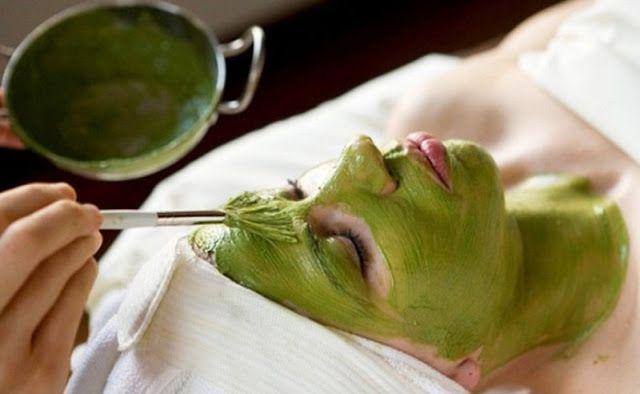 Mascarilla casera de té verde contra acné y espinillas | Ser Chickas | Mascarilla de te verde, Máscara facial hecha en casa, Remedios para el acne