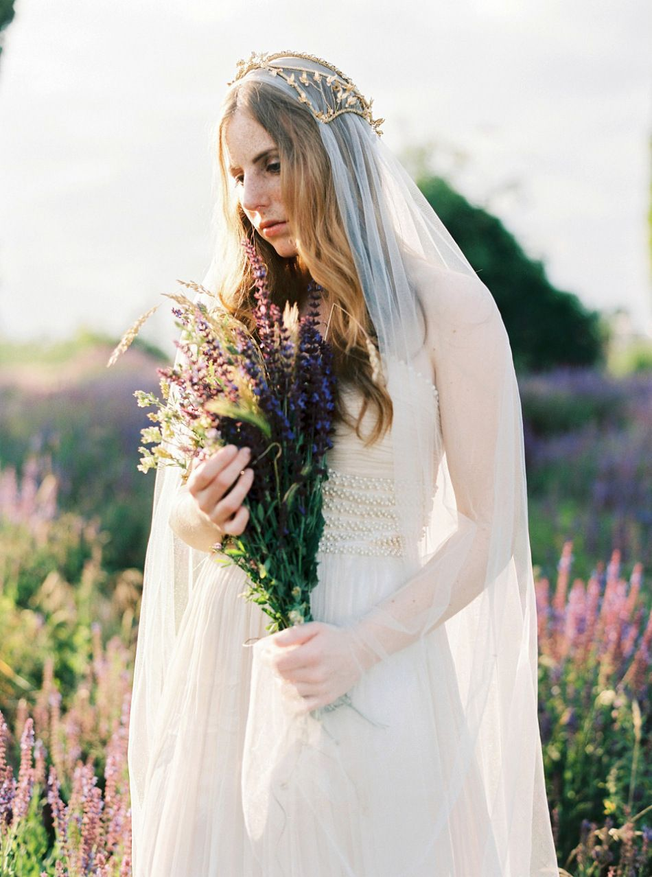 Ethereal Gold Headpieces For Brides by Beretkah | Love My Dress UK Wedding Blog + Wedding Directory