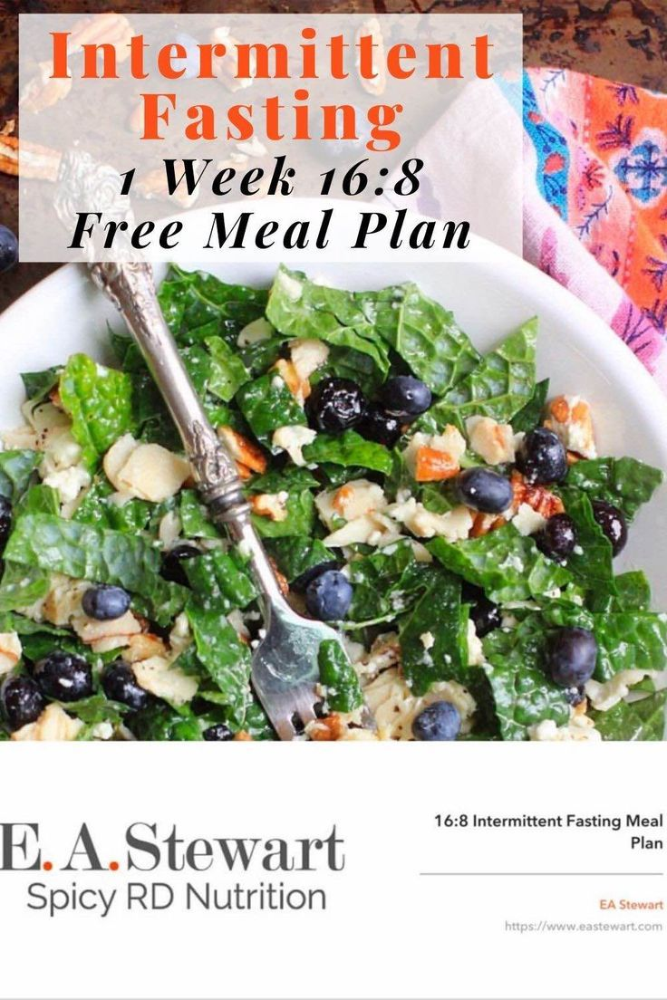 Intermittent fasting 101 a free 16 8 meal plan in 2020