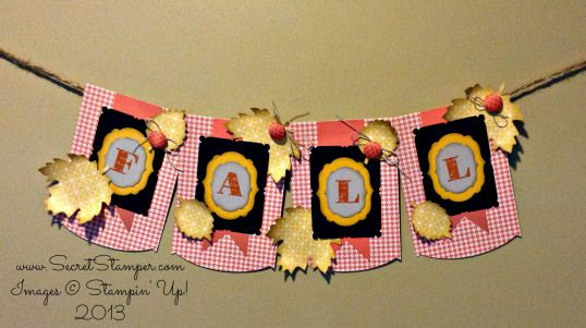 Fall Banner Thankful Tablescape kit -Debbie made it vertical also