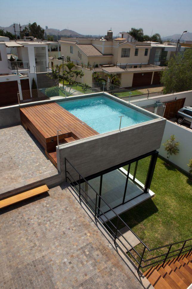 Rooftop Oasis Lima 2 Pileta Edificio En 2019 Piscinas