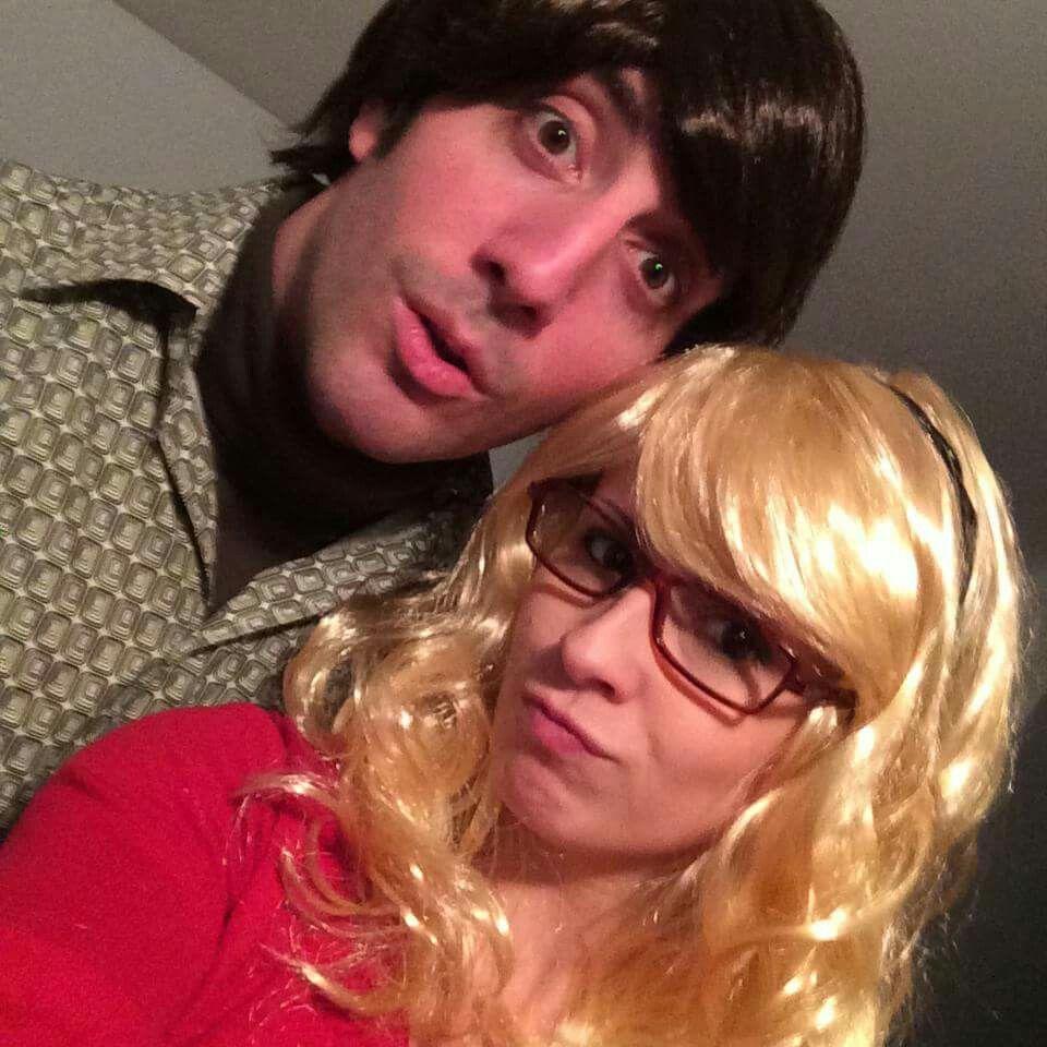 howard walowitz, bernadette, couples costume, halloween, famous, big