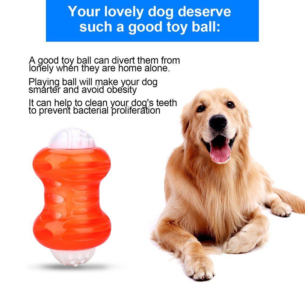 Persuper Interactive Dog Balls Toys Durable Ball Rubber Dog Toy