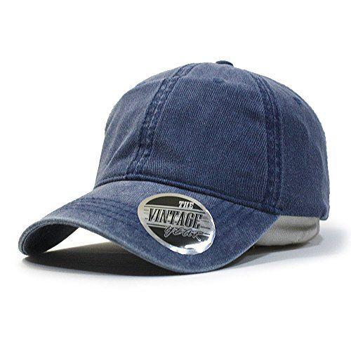 Vintage Year Blank Dad Hat Cotton Adjustable Baseball Cap  32ff723ba80