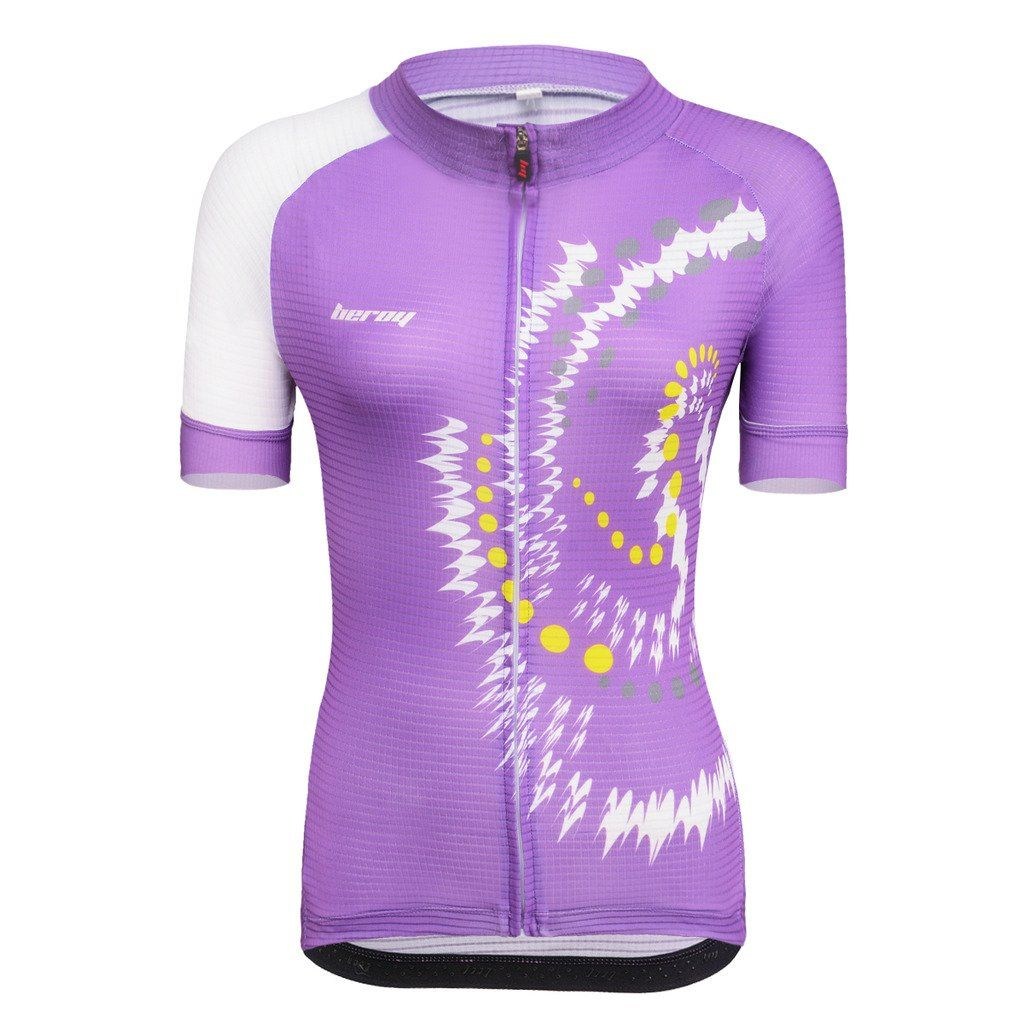 Beory Womens Cycling Jerseys With Short Sleeves Girls Bike Short