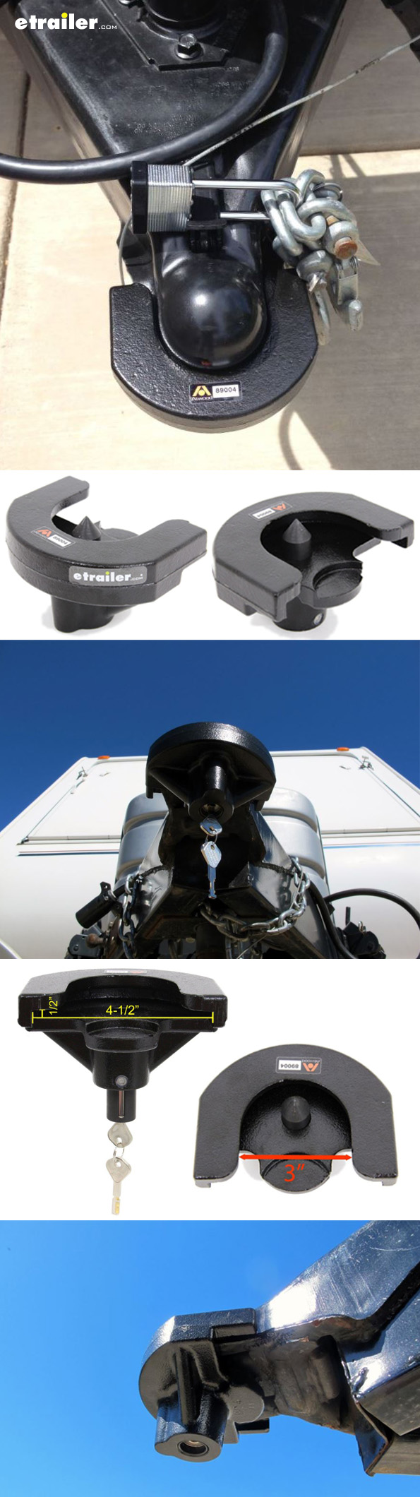 Prevent theft, plus your trailer or Camper will look good