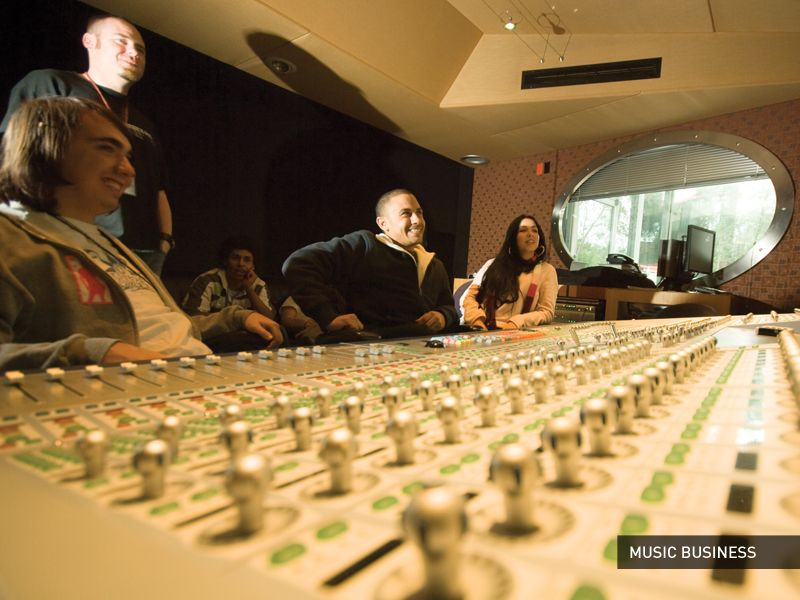 Bachelor's Music Business In this program, you'll