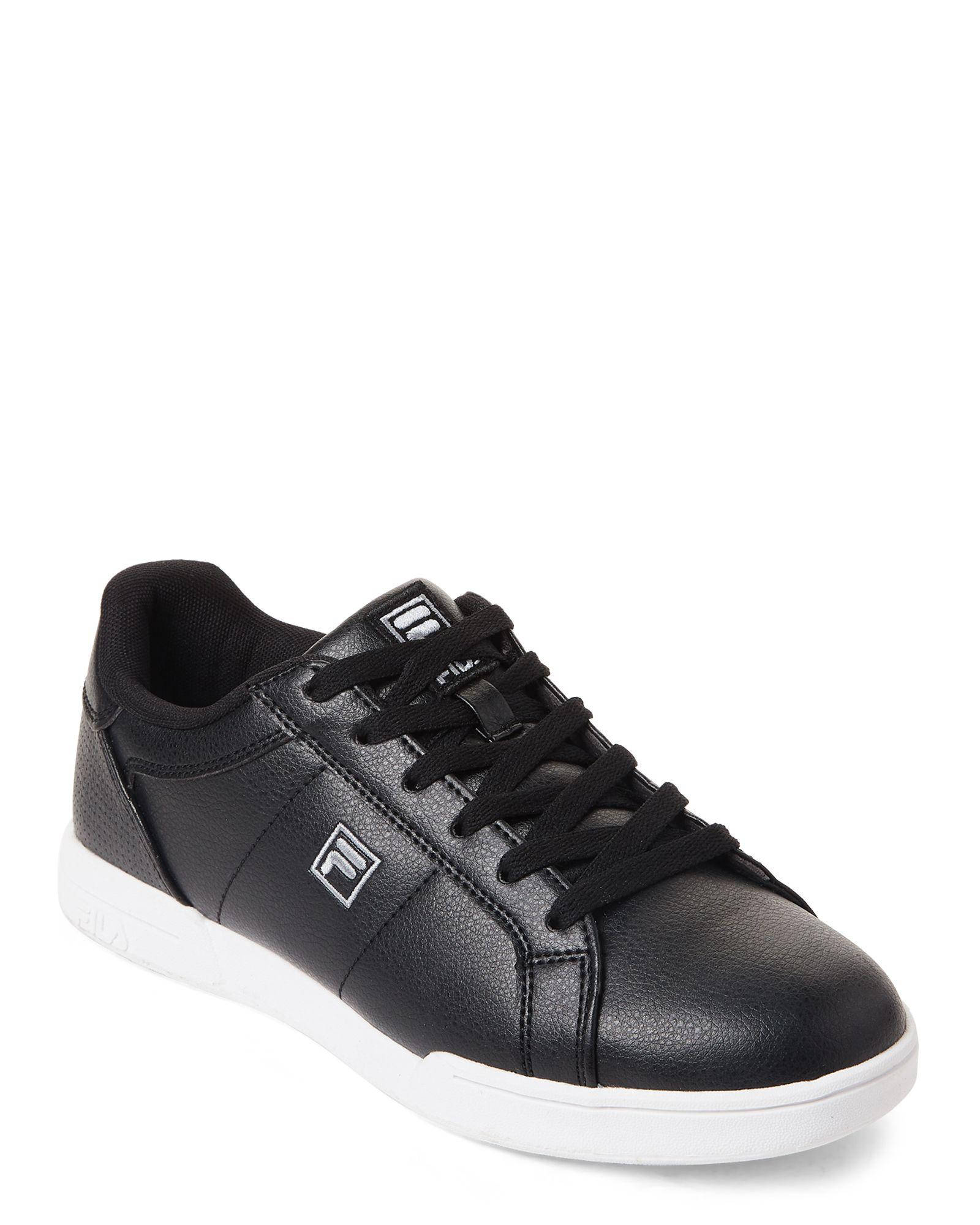 Fila Black New Campora Low Top Sneakers   Fila   Sneakers